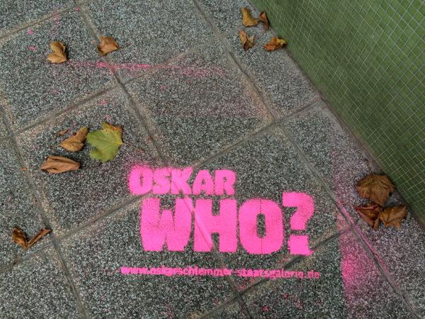 OSKAR SCHLEMMER - Visionen einer neuen Welt - Ausstellung verlängert bis 19.04.2015 - Foto © Welz