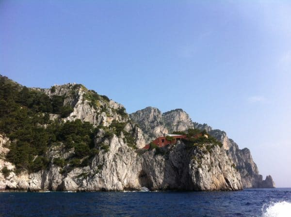 Villa Malaparte auf Capri - Foto © Welz
