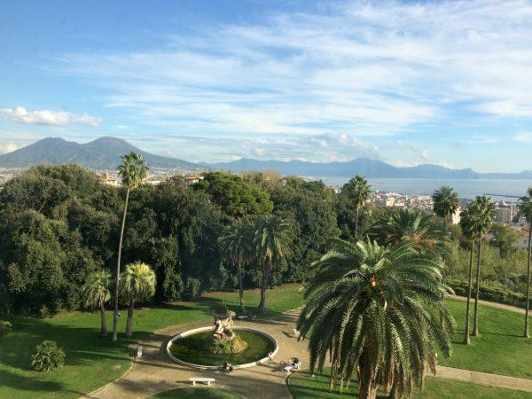 Blick aus dem Fenster: Museo Capodimonte Neapel. Foto © Welz (2016)
