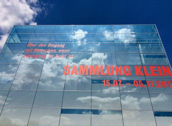 Sammlung KLEIN im KUNSTMUSEUM Stuttgart bis 5.11.2017 Foto © Welz