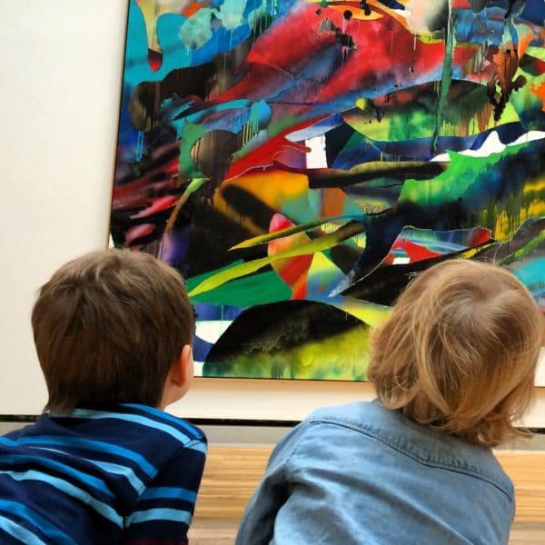 Kids and Art - Staatsgalerie Stuttgart #rockthatmuseumkid Foto © Welz