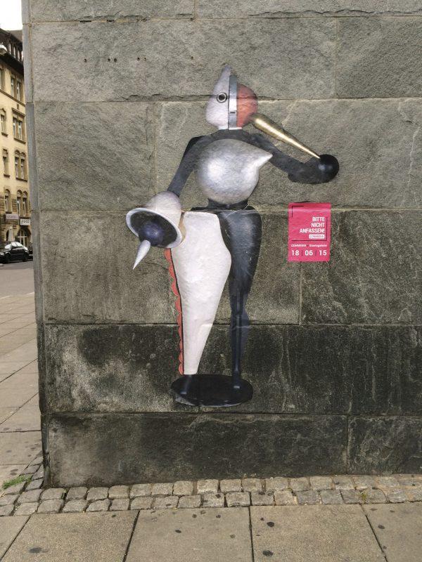 Commedia Stuttgart: Der Abstrakte von Oskar Schlemmer - Foto © Welz