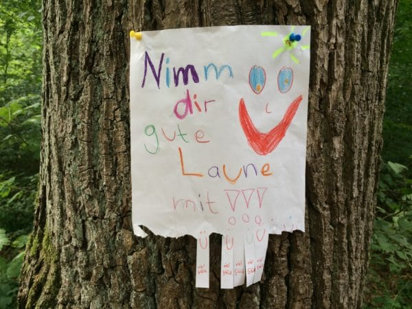 Viel Glück! Ein Stadtspaziergang durch Stuttgart mit Andrea Welz - Foto © Welz