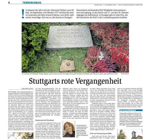 Stuttgarts rote Vergangenheit GEA 18.10.2017