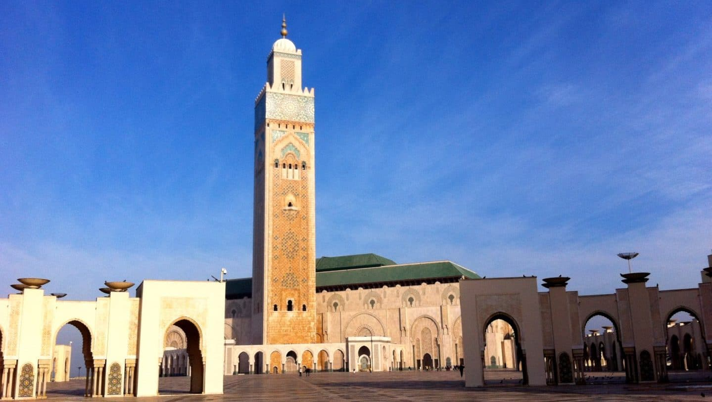 Hassan II Moschee in Casablanca. Foto © Welz