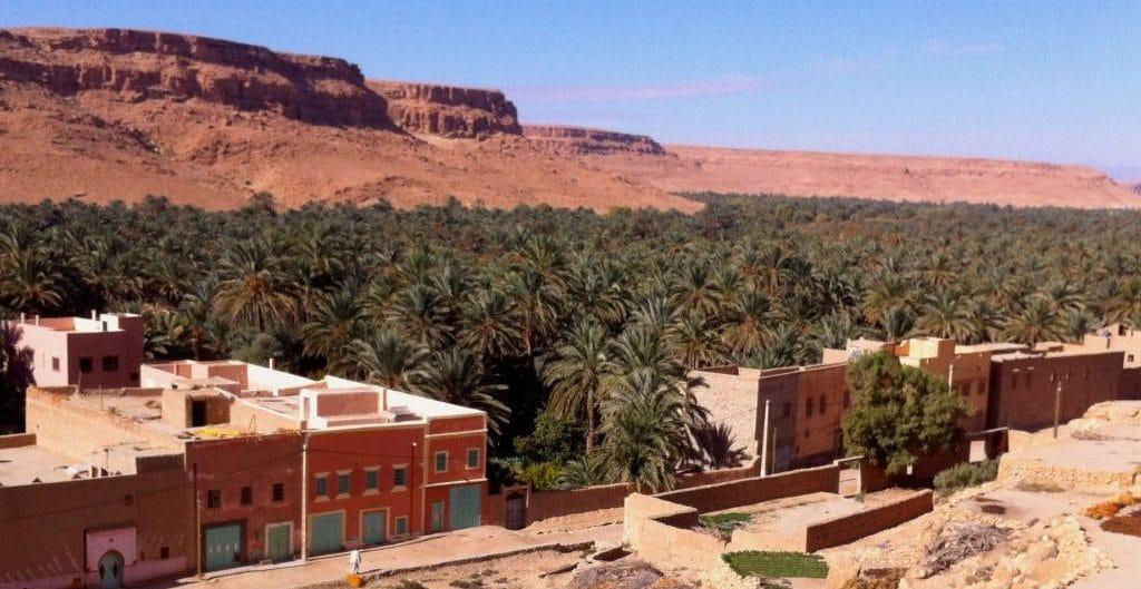Oase Tafilalet Marokko - Foto © Welz