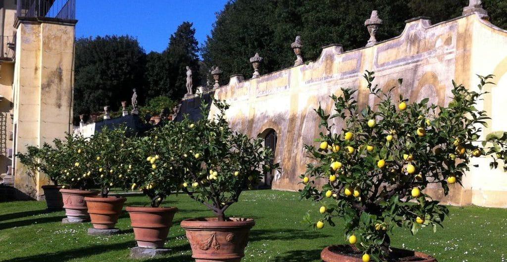 Ziel der Wanderung von Fiesole nach Settignano: die Villa Gamberaia - Foto © Welz