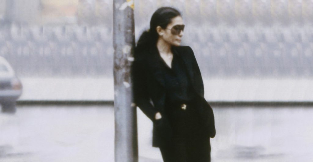 Yoko Ono, Walking On Thin Ice (video still), 1981 © Yoko Ono