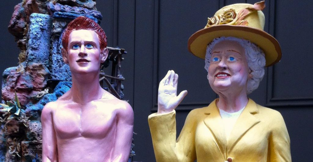 Napoli: The Queen und Prince Harry. Foto © Welz