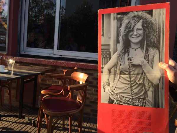 Janis Joplin war nie in Stuttgart, oder? Aber in Paris ... Foto © Welz