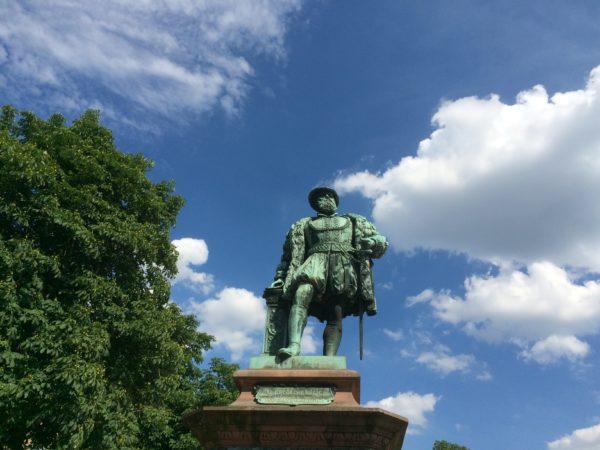Herzog-Christoph-Denkmal in Stuttgart. Foto © Welz
