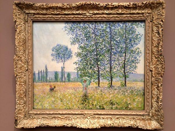 Staatsgalerie Stuttgart: Claude Monet, Felder im Frühling, 1887 - Foto © Welz