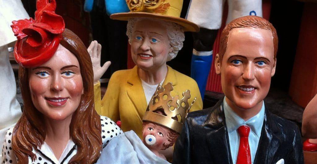 The Queen, Kate, William und Prince George in Napoli. Foto © Welz