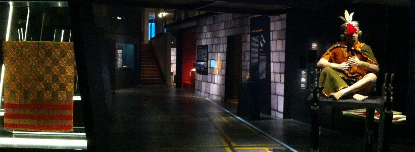 Beim Twittertreff im Lindenmuseum durfte ausnahmsweise fotografiert werden: #inka2013 - Foto © Welz