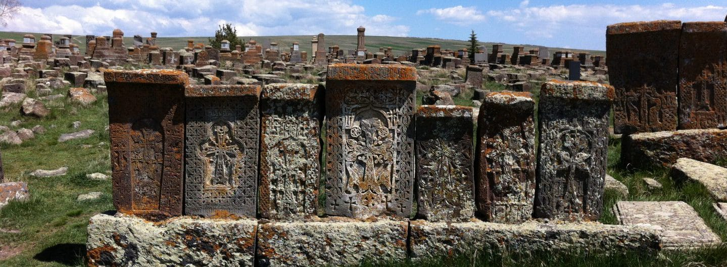 Armenien: Friedhof Noratus. Foto © Welz