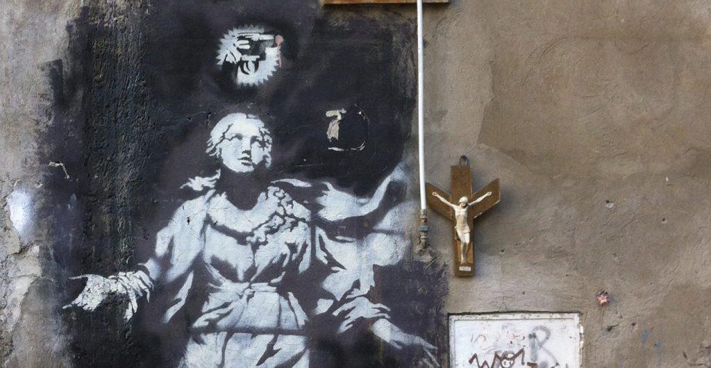 Madonna - Streetart Napoli 10_2013 Foto © Welz