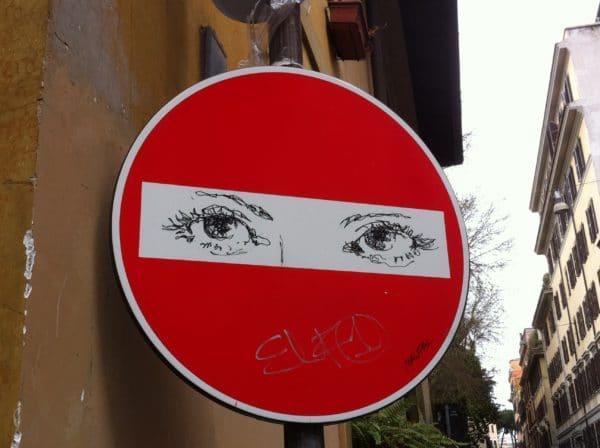 Burka eyes von maupal im Borgo Rom - Foto @ Welz