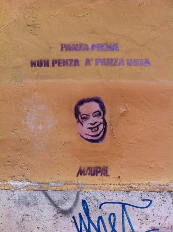 ... ein voller Bauch denkt nicht an einen leeren Bauch! maupal im Borgo in Rom - Foto © Welz