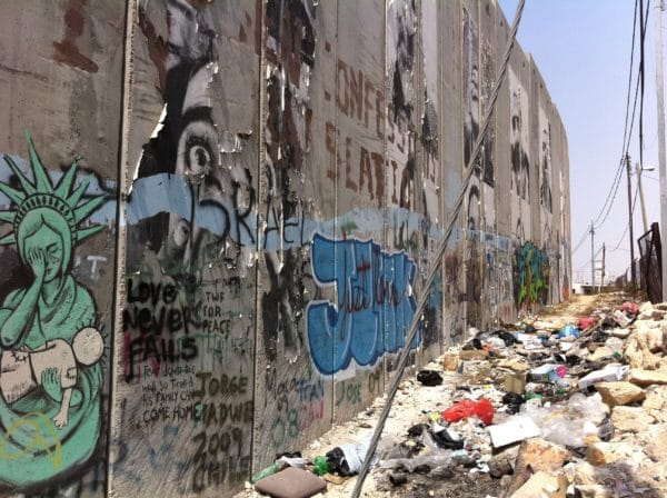 THE WALL (2) Bethlehem - September 2011 - Foto © Welz