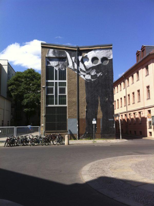 JR #wrinklesofthecity Berlin Auguststrasse 7_2013 Foto © Welz