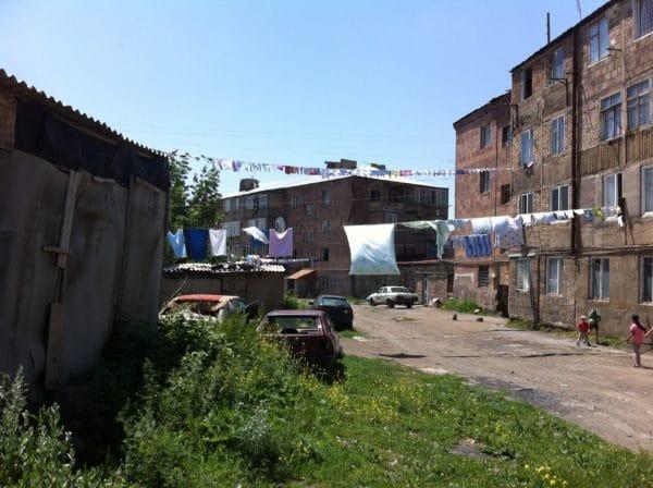 Waschtag in Aparan Armenien - Foto © Welz