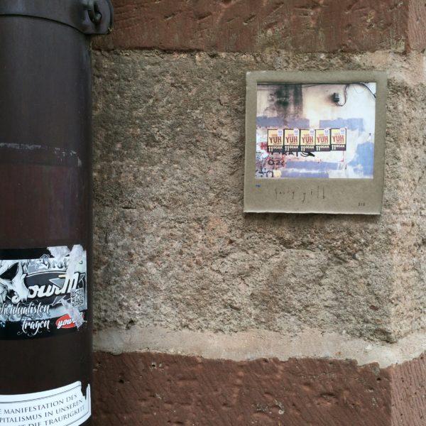 Zum Schluss meines Spaziergangs durch Basel hab ich noch Harry Gelb 516 gefunden! Foto © Welz