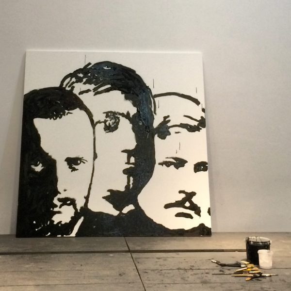 Faszinierend! In 15 Minuten zeichnete .. die Porträts von Klee, Macke und Moilliet! Foto © Welz