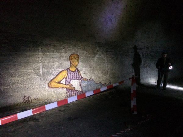 Streetart im Rosensteintunnel - Foto ©Welz