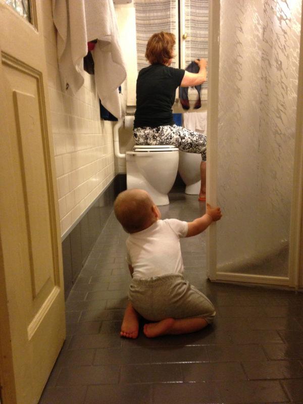 Wäsche waschen! Mit Kind und Kegel in Venedig! Foto © Welz