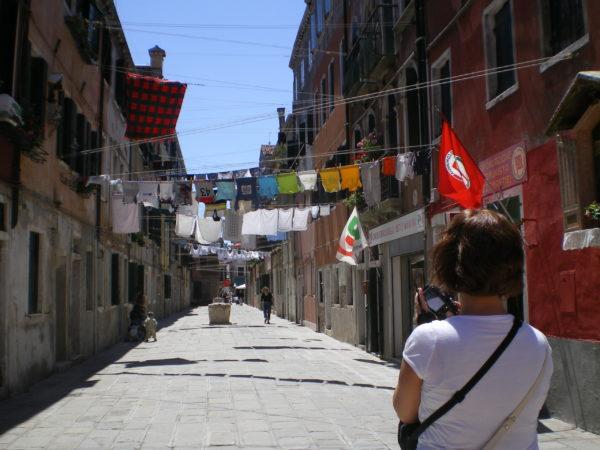 Zur Biennale nach Venedig mit LENA 2009 Foto © Welz