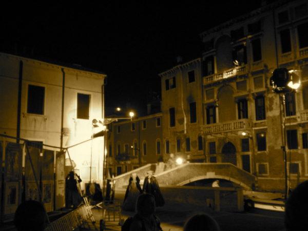 Venedig: Filmaufnahmen zum Historienfilm Sisi 2009 - Foto © Welz