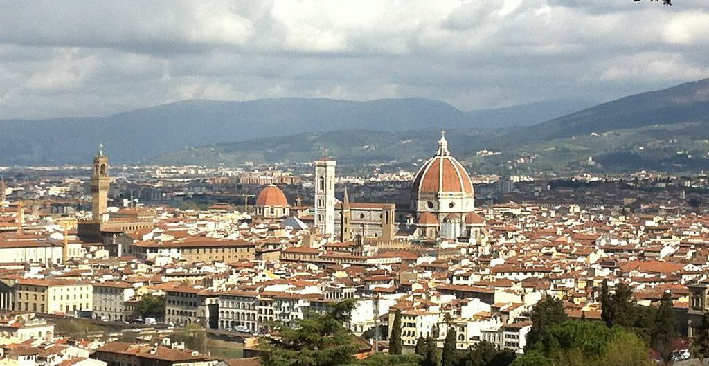 Blick auf Florenz von San Miniato al Monte. Foto © Welz