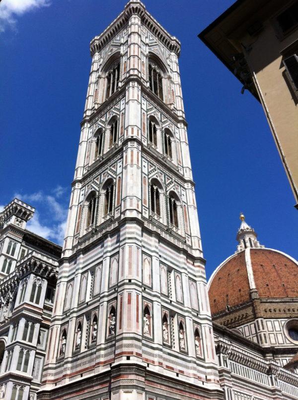 Florenz: Der Campanile von Santa Maria del Fiore - Foto © Welz