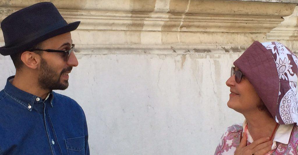 JR und ich in Venedig - Foto © Haer (2015)