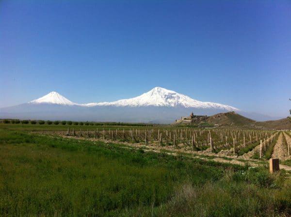 Am Fuße des Ararat ARMENIEN Kloster Chor Virap - Foto © Welz