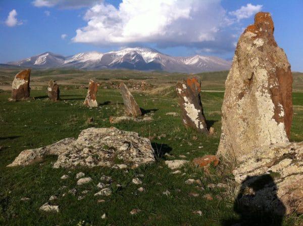 Prähistorische Kultstätte ZORAZ KARER in Armenien - Foto © Welz