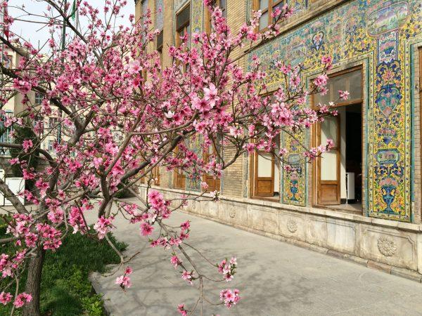 Frühling im Iran. Golestanpalast in Teheran im März. Foto © Welz (2016)