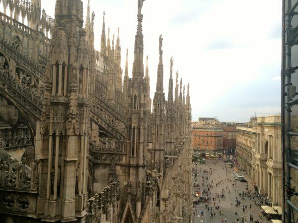 Ca. 4000 Statuen bevölkern den Mailänder Dom. Foto © Welz
