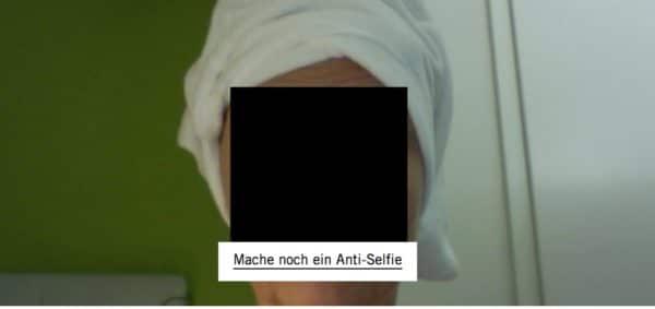 Mein Selfie für AntiselfieClub - Fondation Beyeler - Foto © Welz