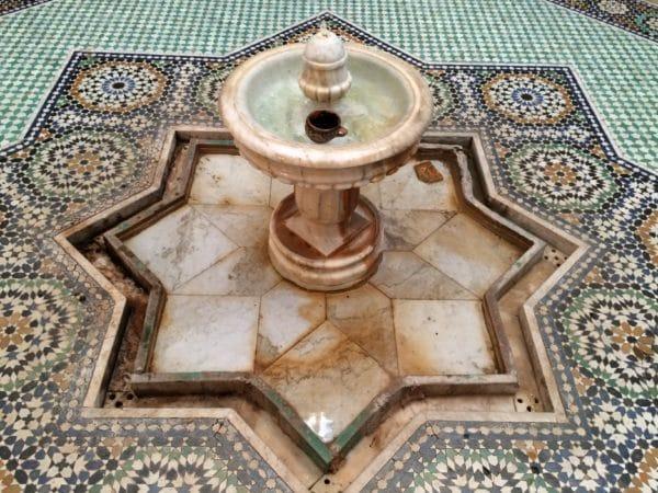 Meknes: Brunnen - Foto @ Welz