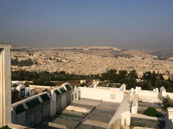 Blick auf Fès: die älteste und bedeutendste der vier Königsstädte Marokkos. Foto © Welz