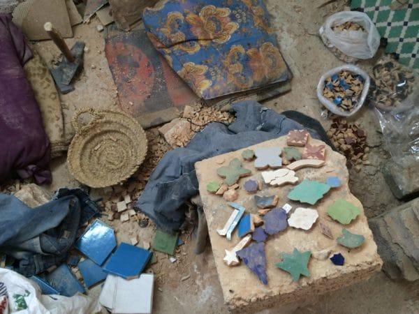 Unverzichtbar? Besuch einer Töpferwerkstatt in Fès. Foto © Welz