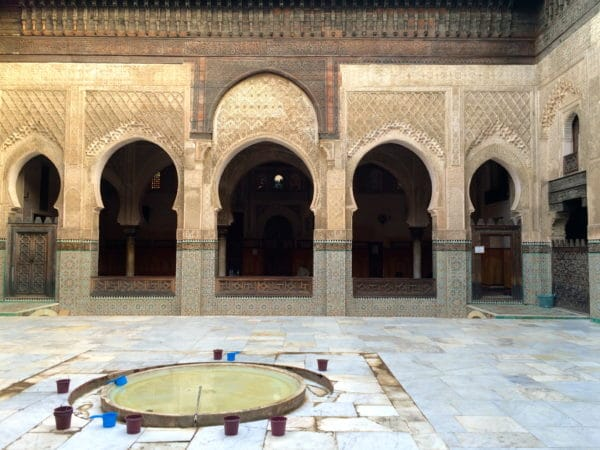 Medersa Bou Inania - die prächtigste Koranschule von Fés. Foto © Welz