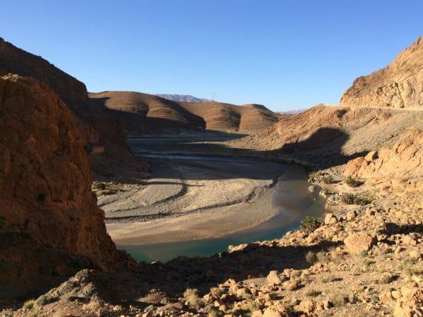 Marokko: Fahrt über den Hohen Atlas. Fotostopp beim Tunnel du Légionnaire. Foto © Welz