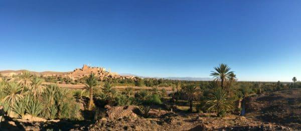 Blick auf die Kasbah Tiffelhoute. Foto © Welz