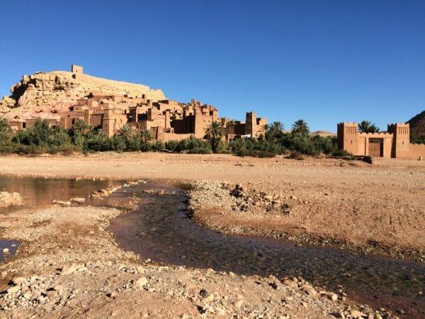UNESCO-Weltkulturerbe seit 1987: das befestigte Dorf Ait-Benhaddou gilt als einer der schönsten Orte Marokkos. Foto © Welz