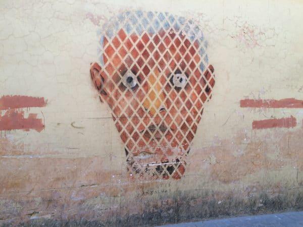 Streetart in Marrakesch. Foto © Welz