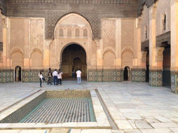 Marrakesch: Die ehemalige Koranschule Medersa Ben Youssef. Foto © Welz