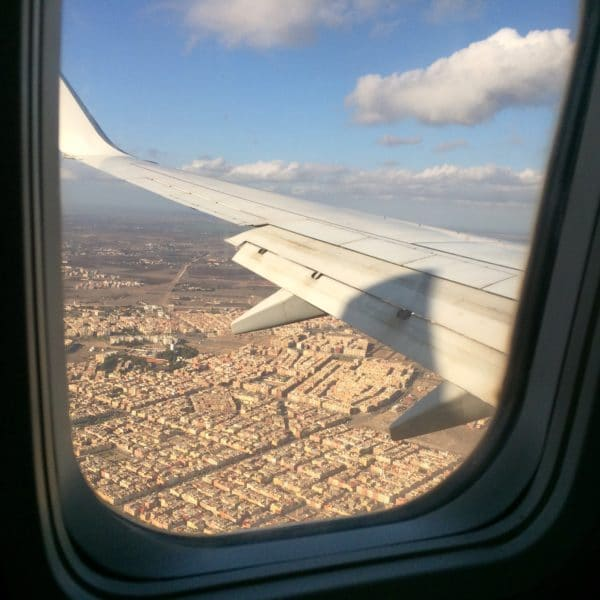 Maa el Salama - Auf Wiedersehen Marokko! Blck auf Casablanca. Foto © Welz