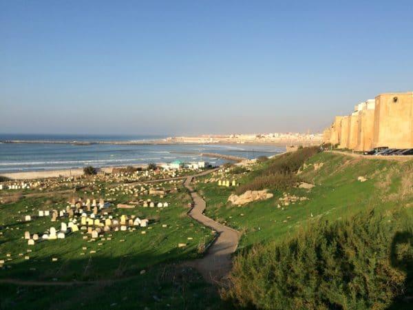 Rabat: Friedhof und Kasbah des Oudaias - Foto © Welz